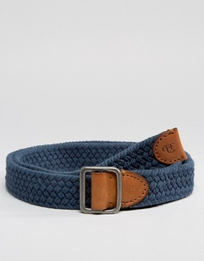 Abercrombie & Fitch Woven Cotton Belt