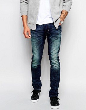 Diesel Jogg Jeans Thavar Slim Fit 600S Dark Wash