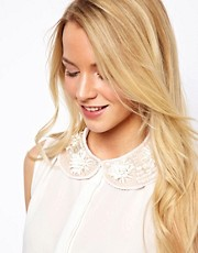ASOS 3D Flower Collar