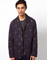 Barbour Jacket with Pheasant Embroidery