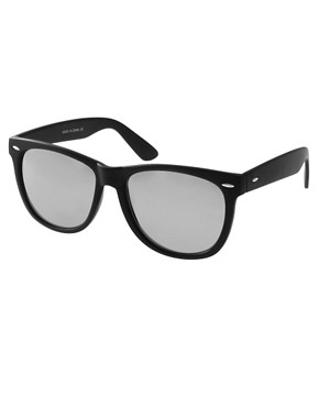 Image 1 ofASOS Large Wayfarer Sunglasses