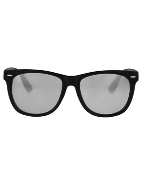 Image 2 ofASOS Large Wayfarer Sunglasses
