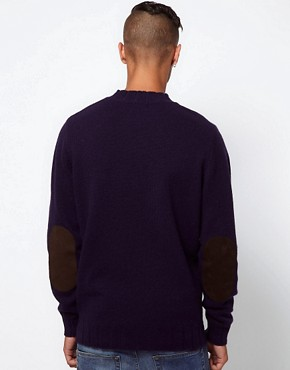 Image 2 ofBarbour Stockman Jumper Shetland Wool