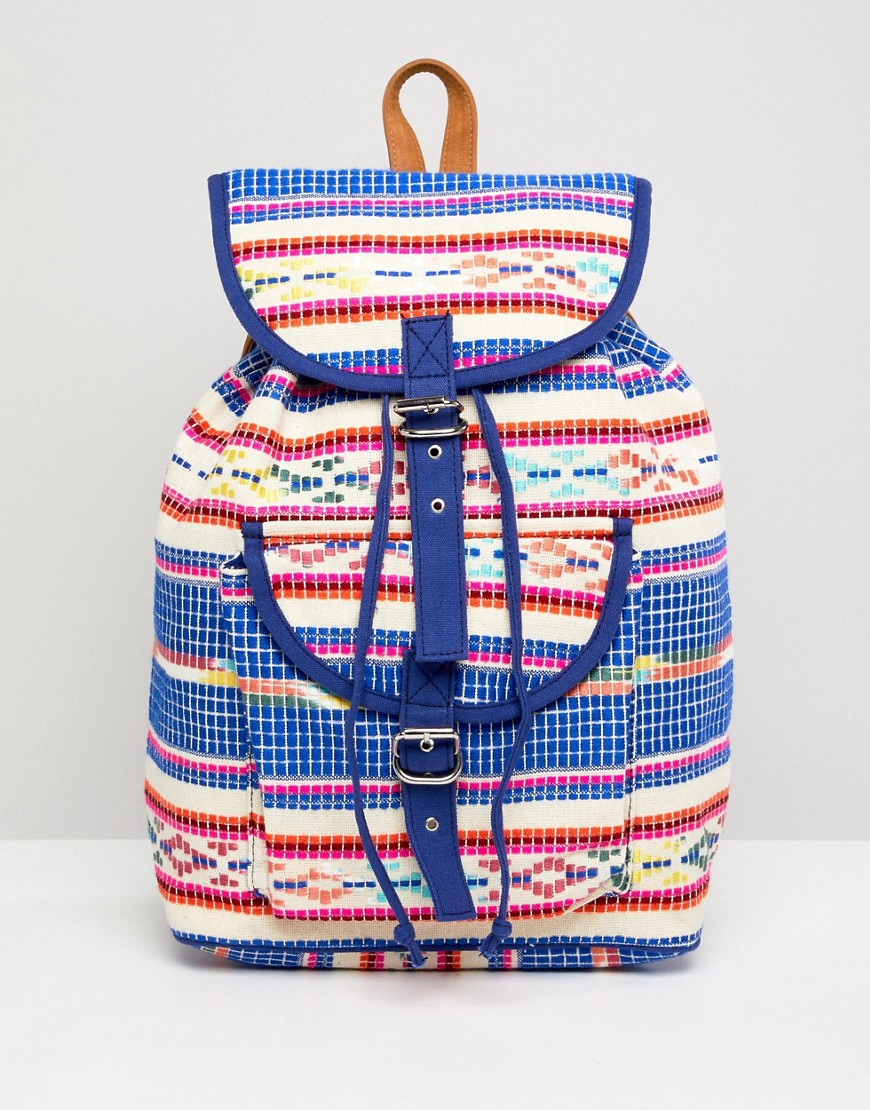 Pieces Festival Backpack - Multi