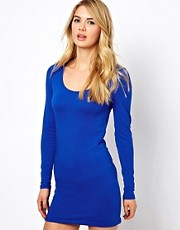 Vila Long Sleeve Bodycon Dress