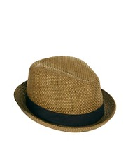 ASOS Straw Pork Pie Hat