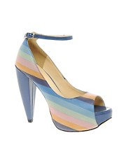 Sugarfree Lorna Cone Heel Shoe