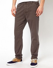 ASOS Slim Chino In Heavyweight Twill