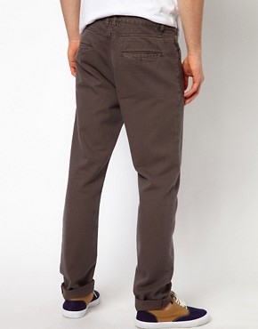 Image 2 ofASOS Slim Chino In Heavyweight Twill