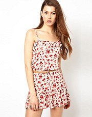 Wal G Floral Dress