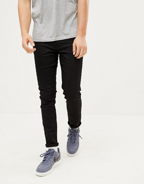 River Island Skinny Fit Jeans In Black
