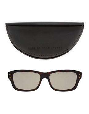 Image 2 of Marc By Marc Jacobs Reflective Lens Wayfarer Sunglasses