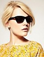 Image 3 of Marc By Marc Jacobs Reflective Lens Wayfarer Sunglasses
