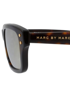 Image 4 of Marc By Marc Jacobs Reflective Lens Wayfarer Sunglasses