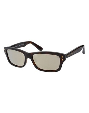 Image 1 of Marc By Marc Jacobs Reflective Lens Wayfarer Sunglasses
