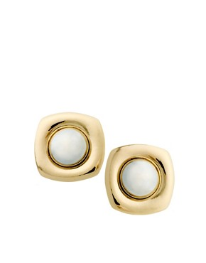 Image 1 ofASOS Saucer Stud Earrings