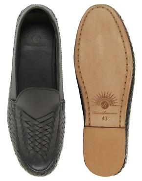 Image 3 ofH By Hudson Benito Leather Shoes