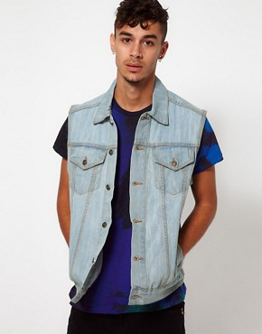 Image 1 ofReclaimed Vintage Denim Gilet