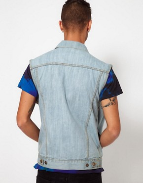 Image 2 ofReclaimed Vintage Denim Gilet