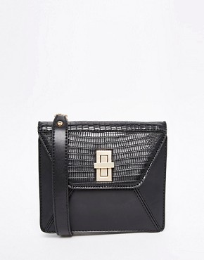 ASOS Textured Cross Body Bag