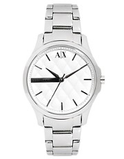 Armani Exchange Silver Bracelet Watch