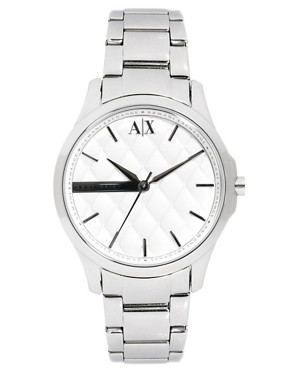 Image 1 ofArmani Exchange Silver Bracelet Watch