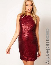 ASOS Maternity Exclusive Sequin Dress