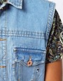 Image 3 ofBellfield Sleeveless Denim Jacket