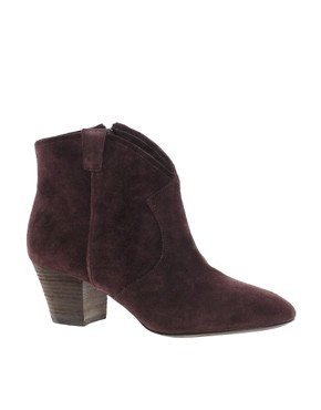 Image 1 ofAsh Jalouse Spiral Burgundy Western Boots