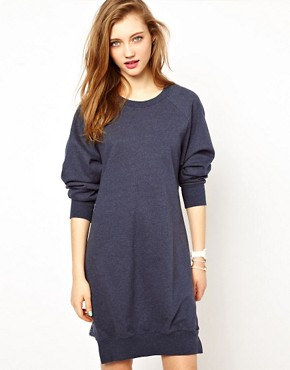 Image 2 ofAshish Exclusive to ASOS Cowl Back Sweatshirt Dress
