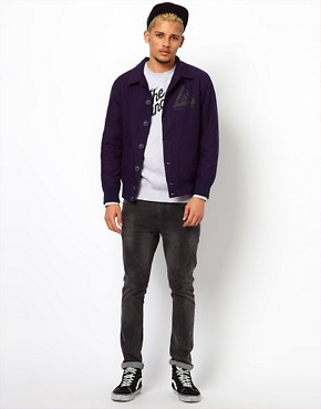 Image 4 ofThe Hundreds Jacket Syringa Nylon Bomber