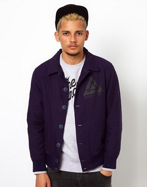 Image 1 ofThe Hundreds Jacket Syringa Nylon Bomber