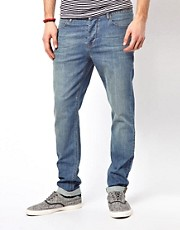 ASOS - Jeans skinny a lavaggio chiaro