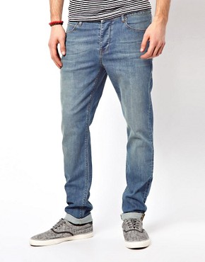 Image 1 ofASOS Skinny Light Wash Jeans