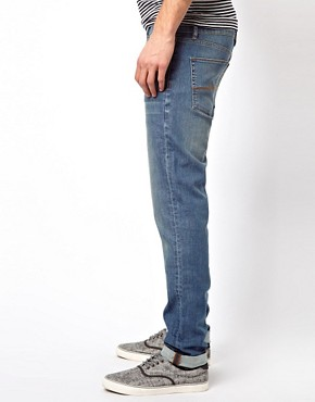 Image 4 ofASOS Skinny Light Wash Jeans