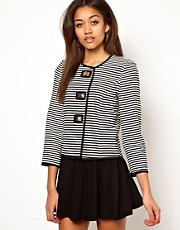 River Island Striped Formal Jacket