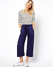 ASOS Wide Leg Culotte Trousers
