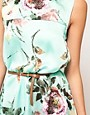 Image 3 ofFull Circle Floral Maxi Dip Hem Dress