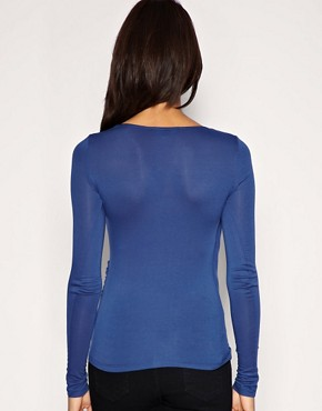 Image 2 ofASOS Drape Front Top