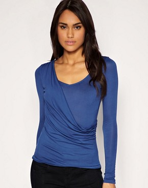 Image 1 ofASOS Drape Front Top