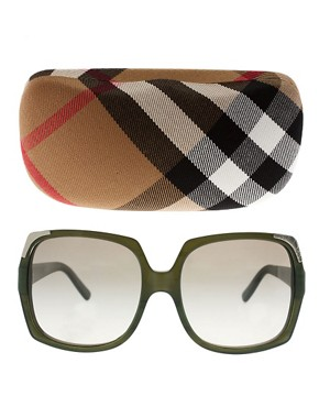 Image 2 ofBurberry Square Sunglasses