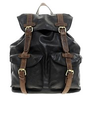 ASOS Military Backpack In PU