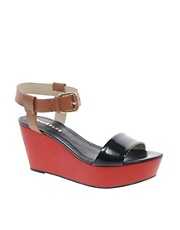 Whistles Lagoon Ankle Strap Flatform Sandals