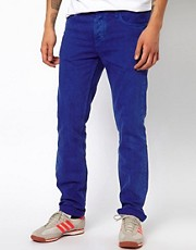 Adidas Originals Slim Jeans in Originals Blue