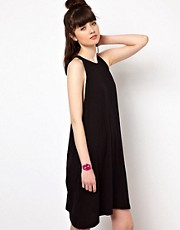 Cheap Monday Dress With Drop Armholes