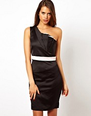 Lipsy One Shoulder Dress with Ruffle Detail