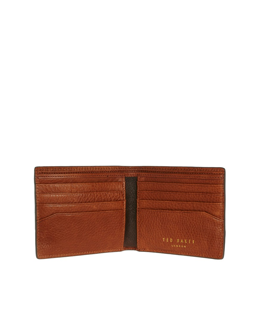 Image 2 of Ted Baker Leather Billfold Wallet