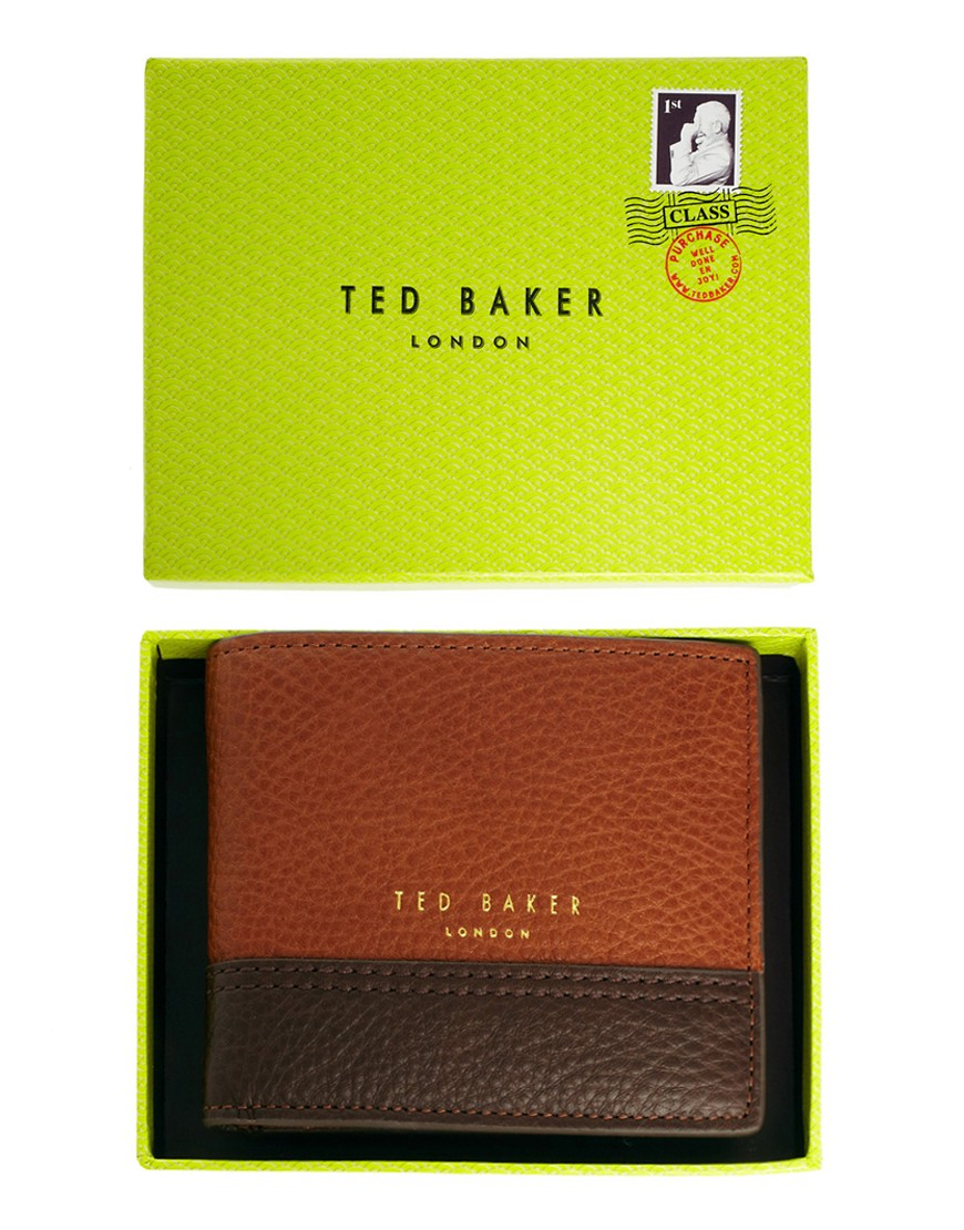 Image 3 of Ted Baker Leather Billfold Wallet