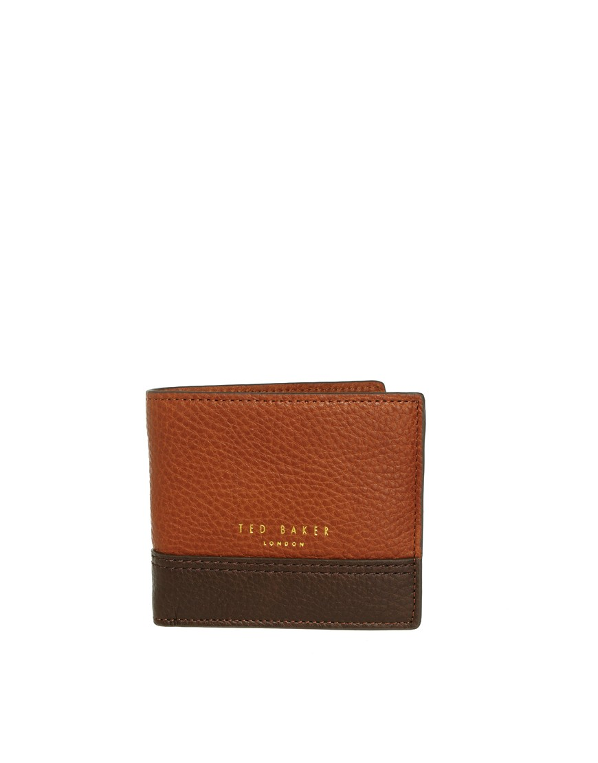 Image 1 of Ted Baker Leather Billfold Wallet