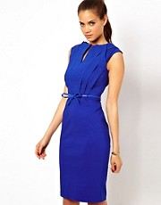 Paper Dolls Bandage Dress with Belt